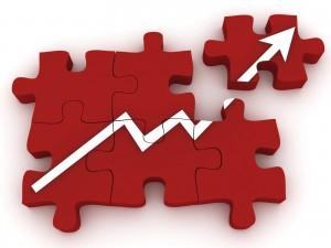 kreditu kiekio augimas